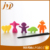 OEM alloy bamboo training kids chopsticks with silicone