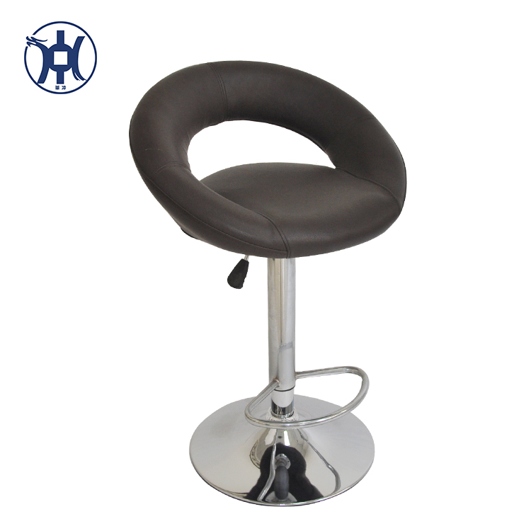 Cheap PU Leather Covered Bar Chair Bar Stool For Wholesale