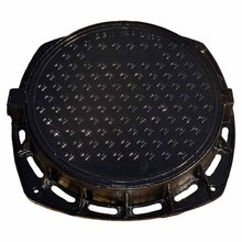 EN124 E600 round waterproof septic tank ductile iron manhole cover