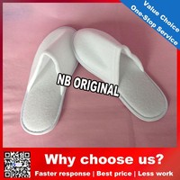China factory supply for hotel used super luxury top quality customized hotel slipper