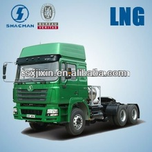 China supplier Shacman LNG tractor truck trailer 6x4 for sale