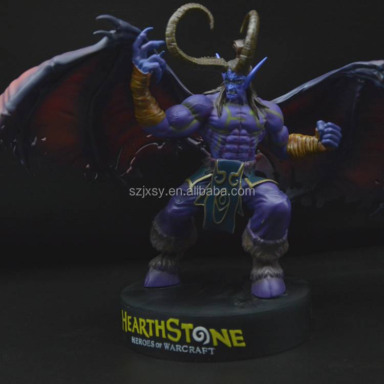 Custom OEM Pop Game Resin Monster Action Figure Making