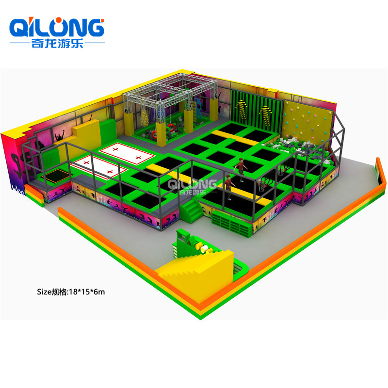 Newest Professional Top Supplier Customized Trampoline Park, Indoor Trampoline Park
