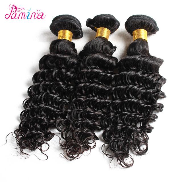 Factory Direct Supply Virgin Hair 100% Human Hair Deep Curly Peruvian/ Malaysian/ Indian/ Brazilian/ Mongolian Hair Weave