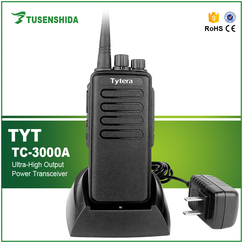 TYT TC-3000A Portable Woki Toki 5-8km Mobile Radio Transceiver for Security Communication