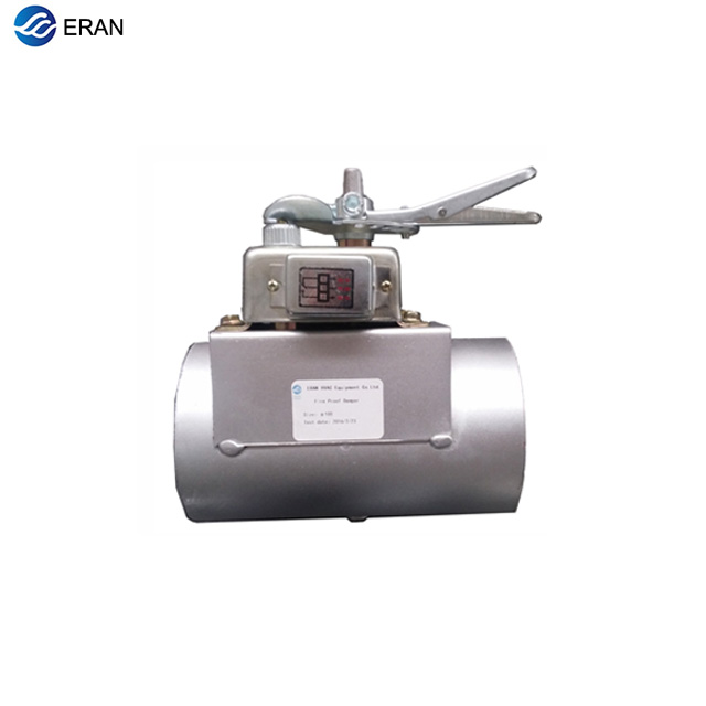 Air Conditioner Parts Reasonable Hvac Stainless Steel Air Damper Valve 220v Electric Air Duct Motorized Damper For 4ventilation Pipe Valve 100mm