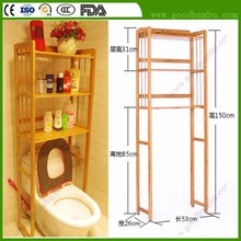 Fabulous Bamboo Bathroom Shower Shelves And Cabinets