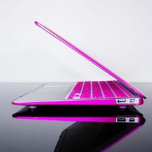 New products cheap price METALLIC HOT PINK Hard Case cover for Macbook Air 13