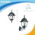 Modern Fashion Waterproof Cottage Glass Aluminum Led E27 Outdoor Pendant Light for Aisle Entrance Garden light IP44 with TUV