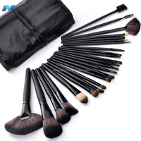 HOT !! Professional 24 pcs Makeup Brush Set tools Make-up Toiletry Kit With Case