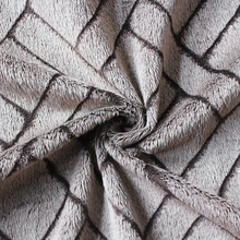 China suppilers Warp Knitted 100% Polyester Discharge Print Velboa Plush Fabric Super Soft velvet