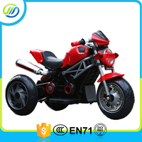 3 wheel battery operated motor bike for kids/kids mini electric motorcycle