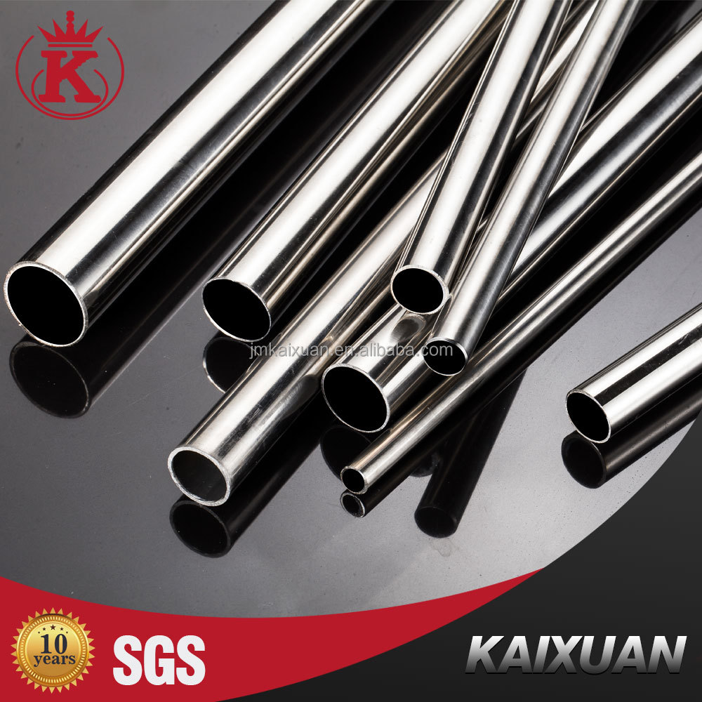 Factory price 202 tube welded 1 inch stainless steel tubing
