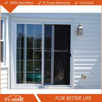 High quality Aluminum Sliding Window With Grill Design