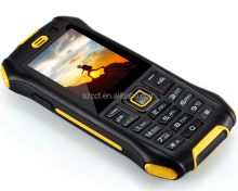 Android Rugged 2.4 inch bar mobile phone 2 sim card rugged feature mobile phones