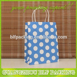 (BLF-PB094) Paper fancy cheap printed shopping bags