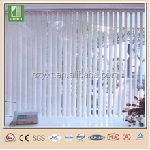 Hangzhou manual vertical blind fabric lace window blinds