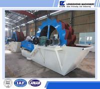 sand washing and dehydration machine/ construction sand making machine/industrial sand washer made in China