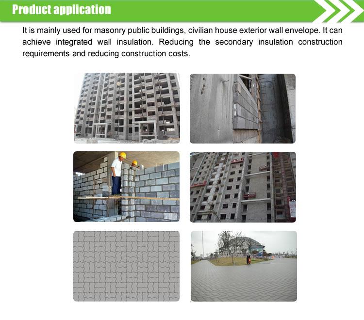 Eps Fireproofing Foam Construction Cement Blocks View Eps