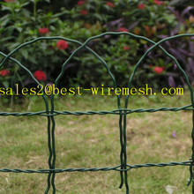 Ornamental Loop Fence /Decorative Woven Wire Fencing