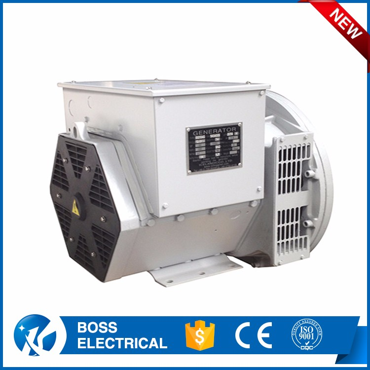 Ac Copy Stamford Synchronous Double Bearing Dynamo 380v Alternator 6kw