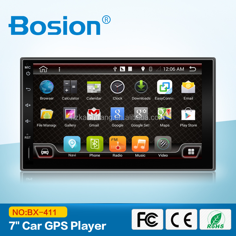 Bosion 7Inch Double Din Car GPS DVD for Toyota land Cruiser Android Car DVD Audio System With Bluetooth and Wifi