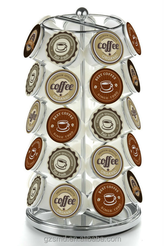 homeit 35 k cup holder for keurig kcup coffee pods holder k cup carousel organizer buy coffee capsule for salesmall carousel for sale - Keurig K Cup