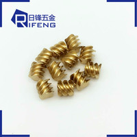 china threaded bras special fastener brass nuts