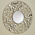 Antique round fan shape wall decor mirror for the hotel /wedding