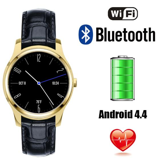"X1 3G Smart Watch with Android 4.4 Update from <strong>K18</strong>, WCDMA WiFi Bluetooth SmartWatch GPS 1.3"" Display Similar as Huawei Watch"