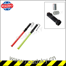 Red Plastic Whistle Rechargeable Traffic Wand
