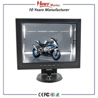 12.1 inch LCD Monitor High Brightness LCD Monitor 12 Volt