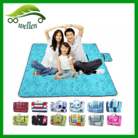 wholesale factory direct 2m * 2m outdoors lightweight high quality picnic beach cushion yoga mats