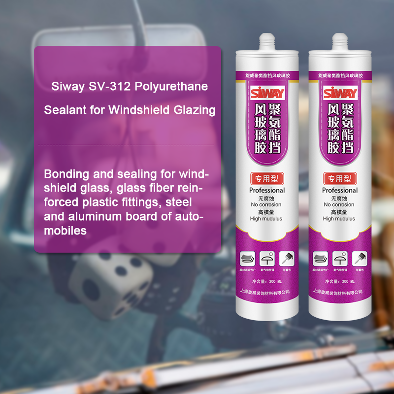 one component polyurethane sealant for windshield glazing