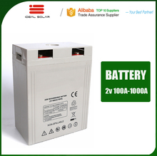 EPS and UPS battery backup 2v 600ah 800ah 1000ah agm gel for golf cart battery