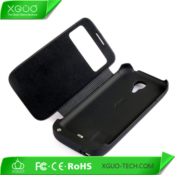 3000mah power bank case for galaxy s4 mini battery charger case
