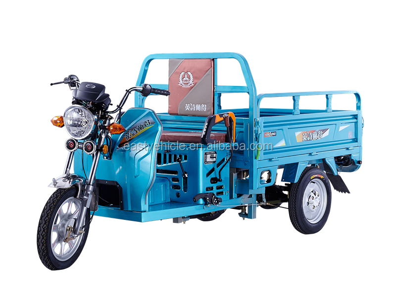 Gasoline Motorized Powerful Three Wheel Electric Cargo Tricycle