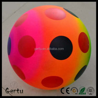 pvc rainbow beach ball/spot volleyball/rainbow balls