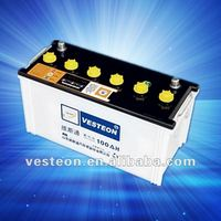 12v battery & car battery 100AH