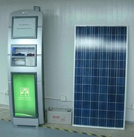 Solar Mobile Phone Charging Vending Machine, Phone charging vending machine