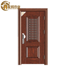 chinese manufacturer Factory price smooth israel security door indoor security doors in china YBSD-335