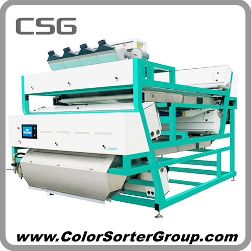 Dehydrated Garlic Color Sorter / Optical Sorting Machine - CSG