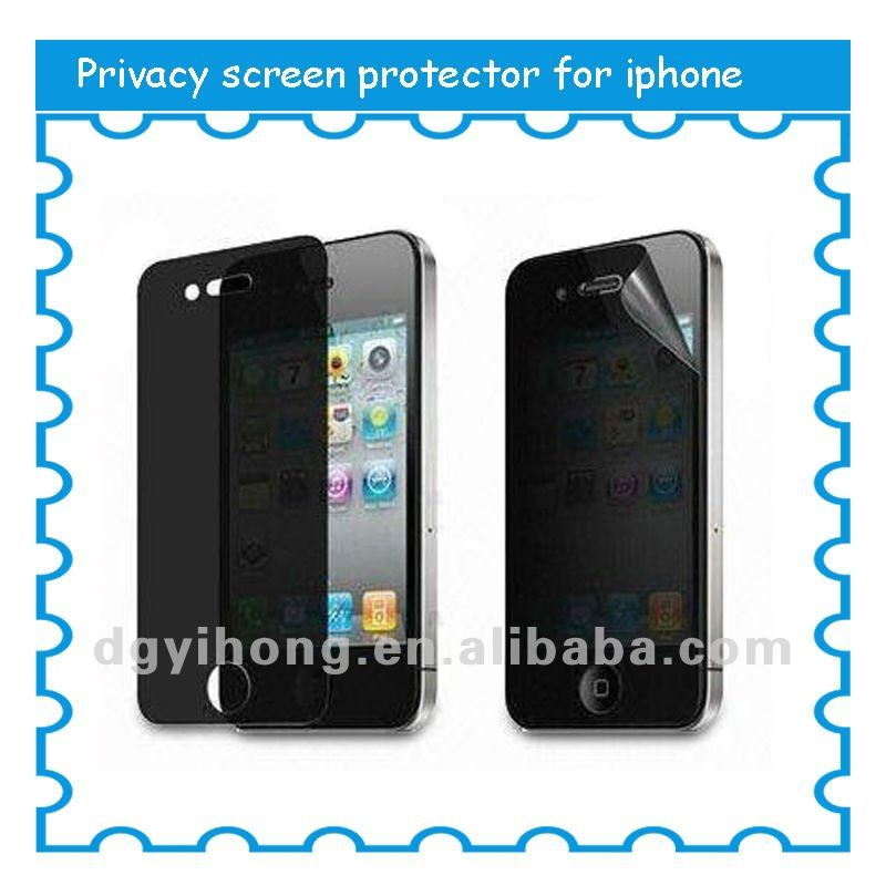 Mobile Phone Privacy Screen Protector For galaxy s3 privacy screen protector