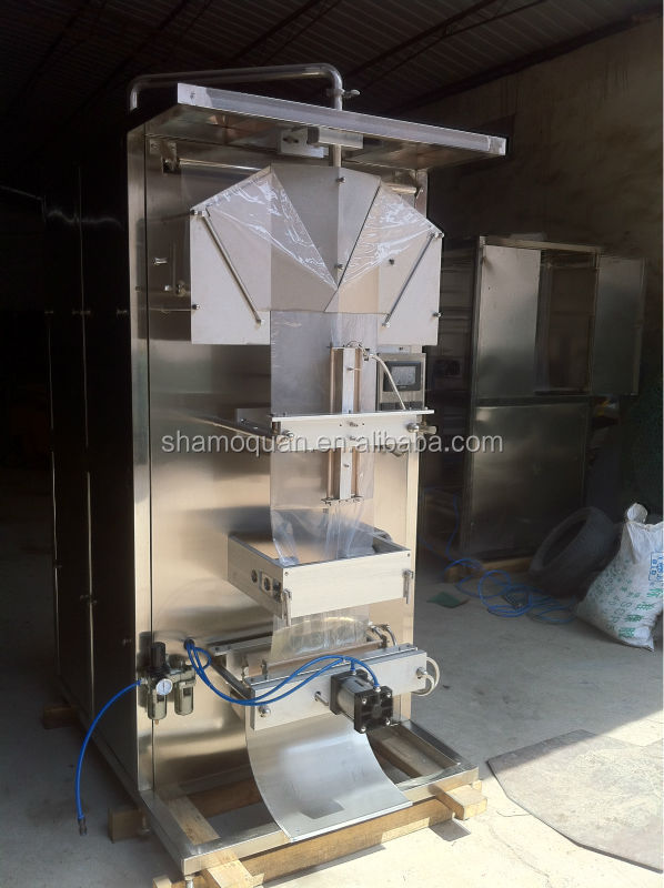 full automatic liquid packing machine for water and milk,small bag packing machine