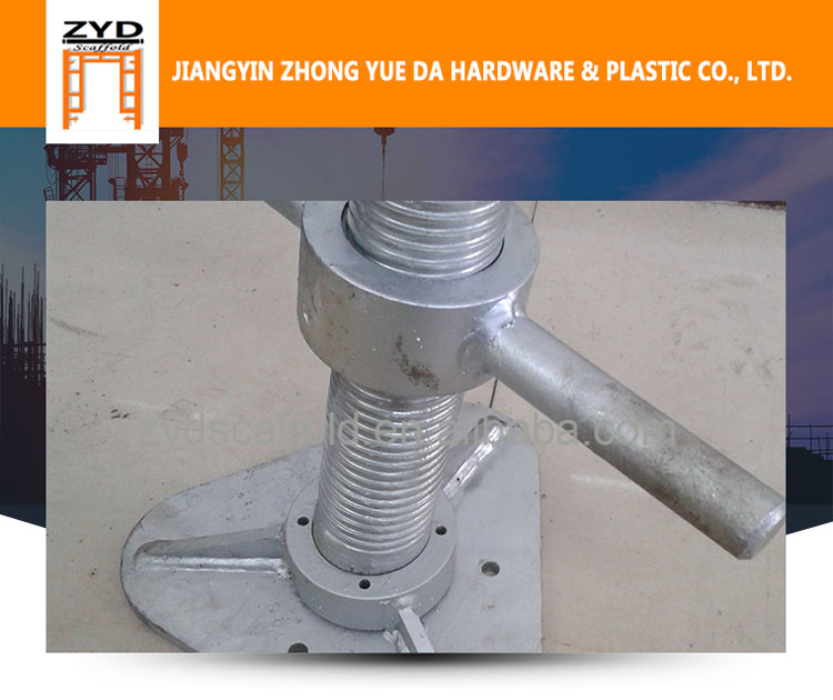 Scaffolding Shoring Solid Base Jack