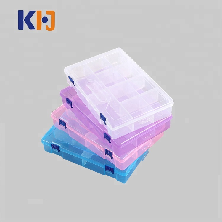 Hot Selling Adjustable Transparent Divider Storage Box <strong>Plastic</strong>