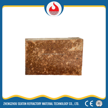 Silica-mullite brick for cement kiln