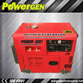 Best Seller!!! Max.Current 190A Open/Silent 5KWdiesel welder and generator