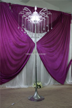 wedding stage decoration lighted pillar tall/acrylic decorative pillars for weddings