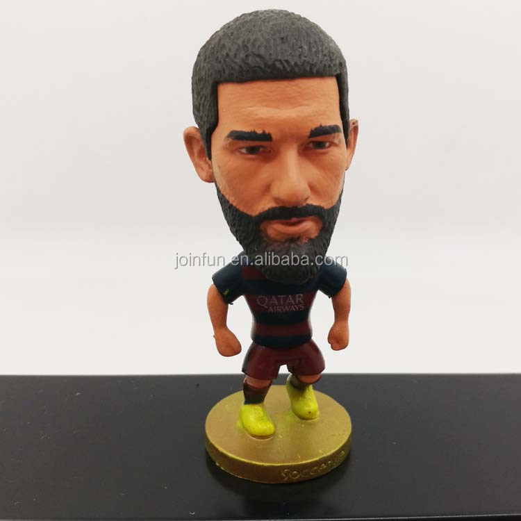 Super star Custom Realistic MINI Plastic football player figurine toys